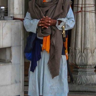 im Tempel von Amritsar