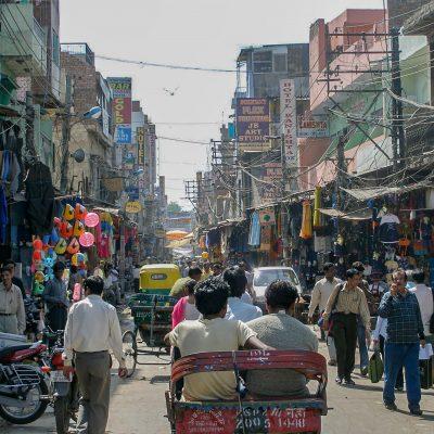 am Main Bazaar in Delhi