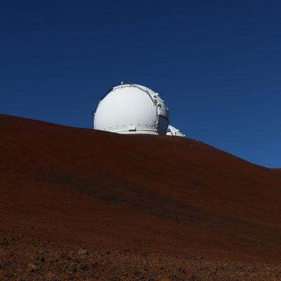 das Keckobservatorium auf dem Mauna Kea