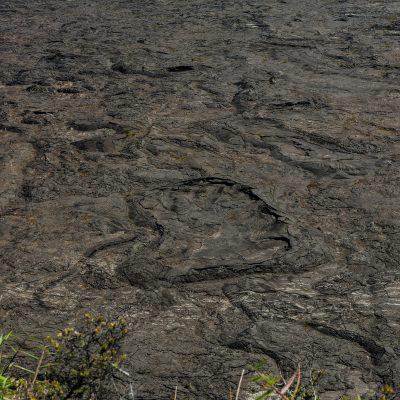 beim Kilauea Krater
