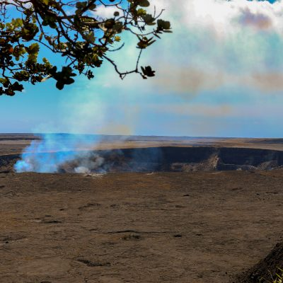 Kilauea Krater