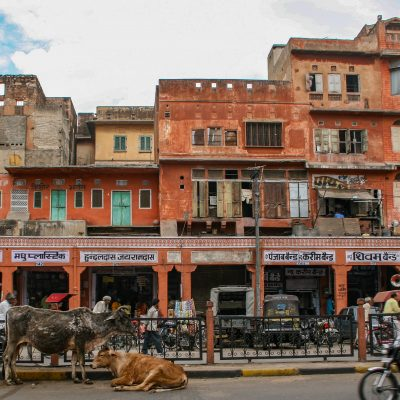 die rosarote Stadt Jaipur