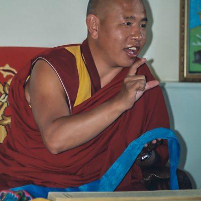 ein hoher buddhistischer