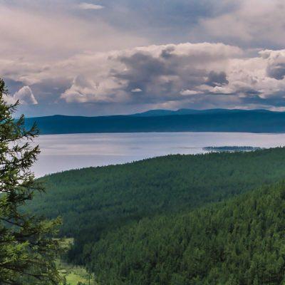 der wunderschöne Khosvgol See