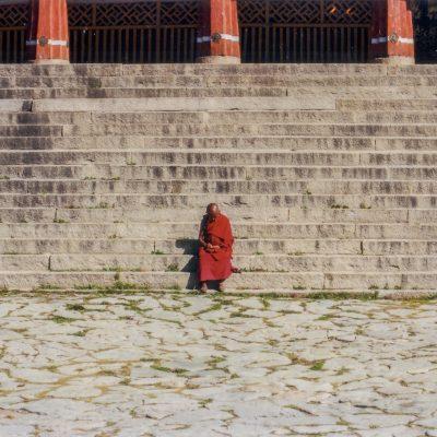 Im Kloster Drepung