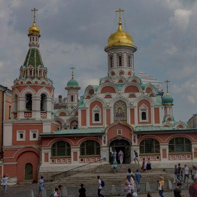 Moskau: Kazan Kathedrale