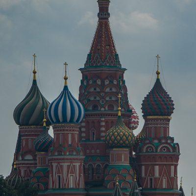 Moskau: die Basilius Kathedrale