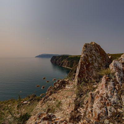 Die Westküste der Insel Olchon
