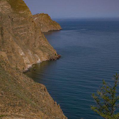 am Nordrand der Insel Olchon