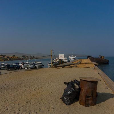 Der Hafen von Chuzir