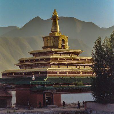 Der Stupa in Labrang