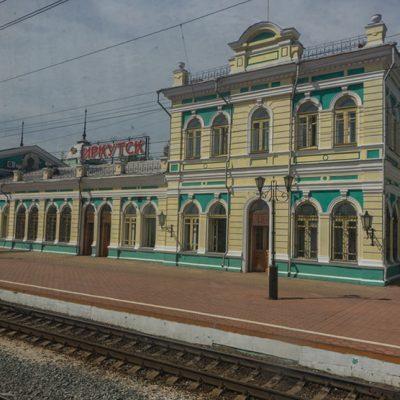 Transibirische Eisenbahn: Ankunft in Irkutsk