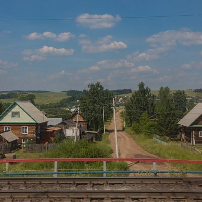 Transibirische Eisenbahn: unterwegs nach Osten