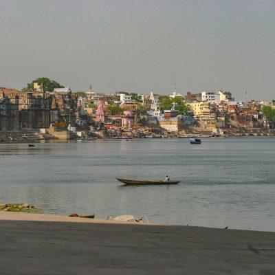 der Ganges in Varanasi