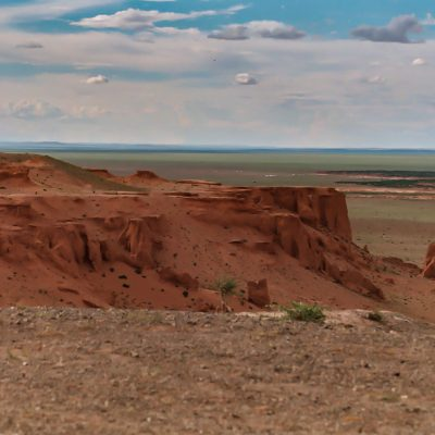 in der Wüste Gobi